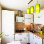 Brilliant hacks for small kitchen design